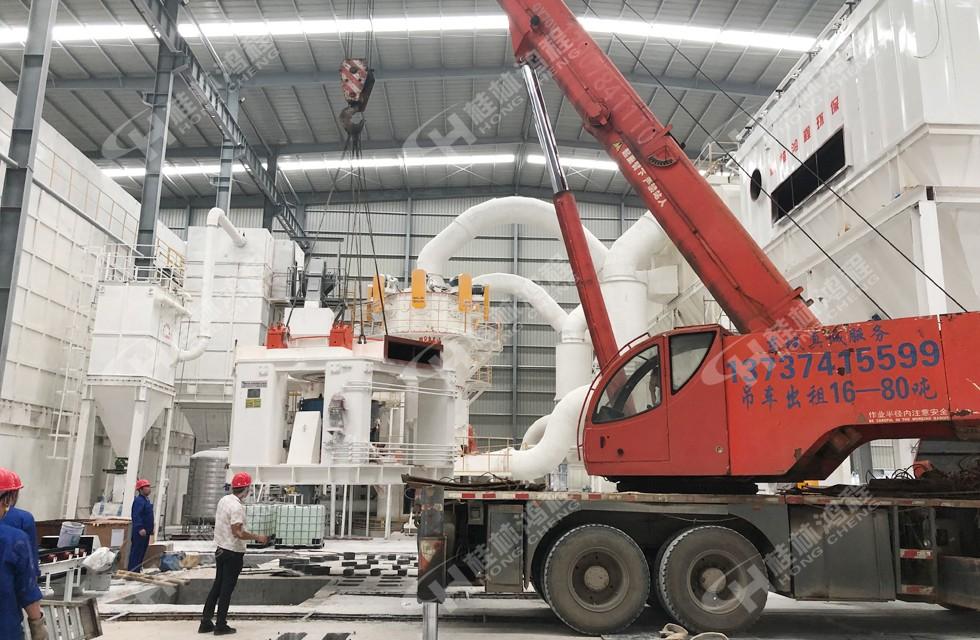 玻璃纤维磨粉1000目设备用立磨加工原料能力强