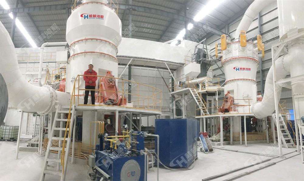 环保型HLM水泥立式辊磨机生产线包括那些设备