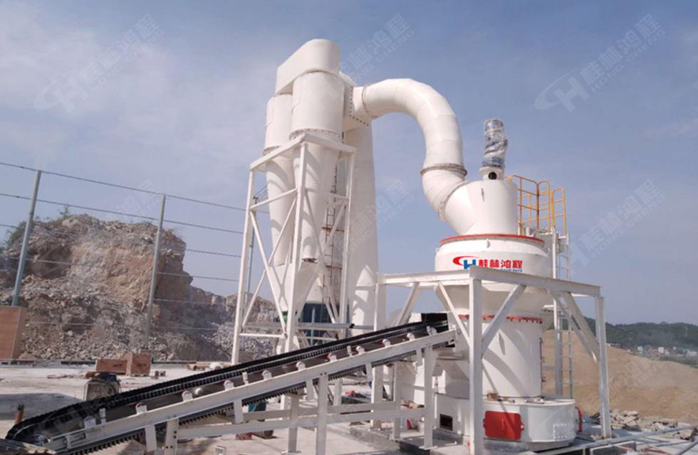 桂林某企业购鸿程药品级滑石磨粉机生产线