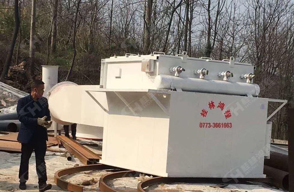 湖南大型石灰深加工生产线正式试产