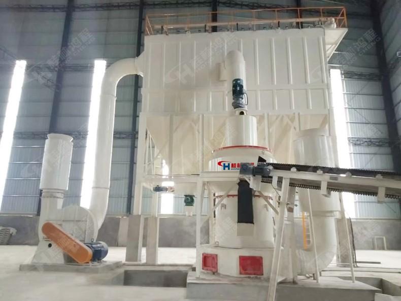 硅灰石粉加工流程