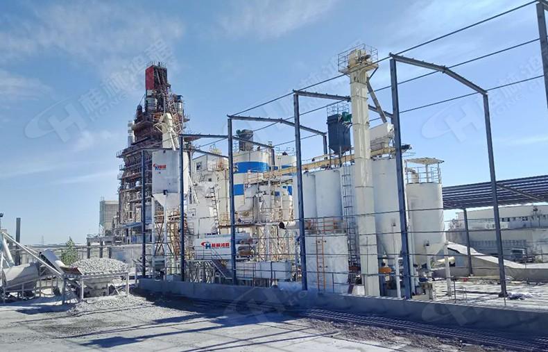 桂林氢氧化钙生产线设备新疆客户安装完毕