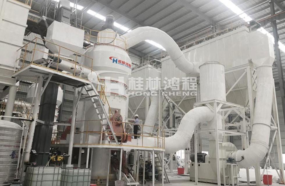 人造岗石设备HLMX超细立磨广西某厂稳产3年