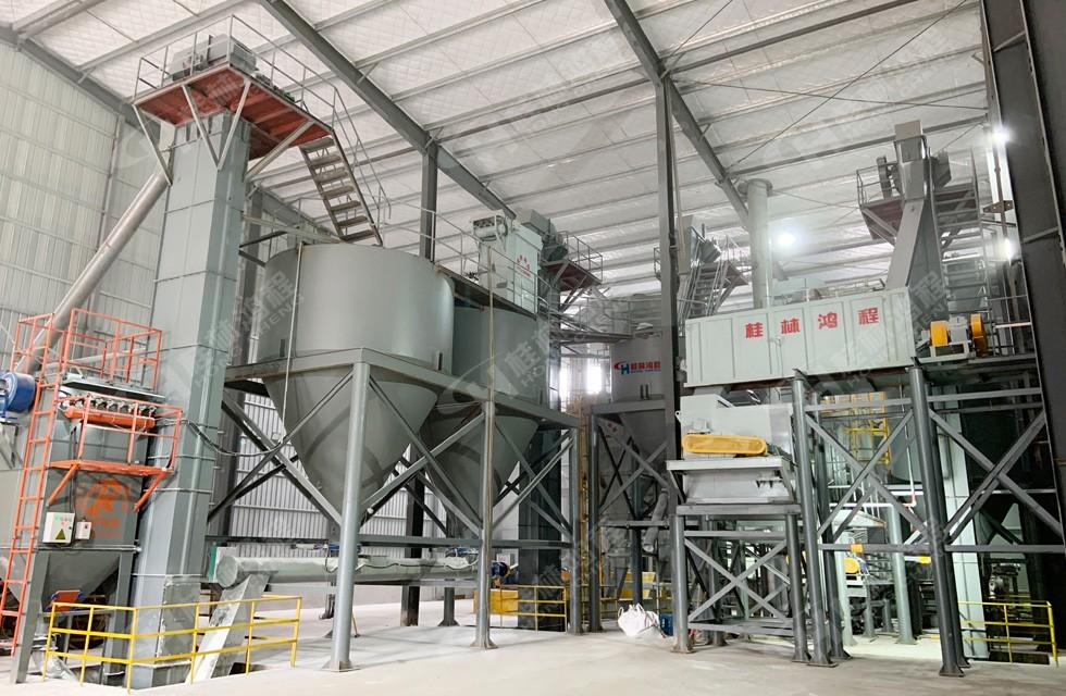 熟石灰磨制设备HQ1000产能海南客户破10吨