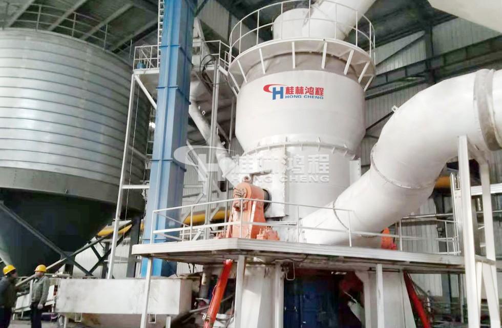山西山阴客户煤矸石粉磨立磨机投产达200目40吨